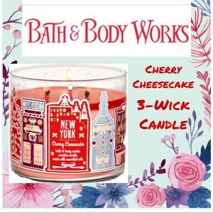 NY Cherry Cheesecake 3-Wick Candle